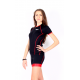 Cycling Jersey Short Sleeves TANIA RED