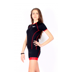 Cyclisme à manches courtes jersey TANIA RED