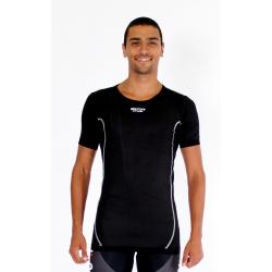 Cycling Underwear Short sleeves - black