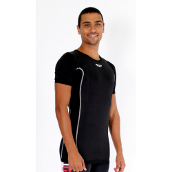 Cycling Underwear Short sleeves - black