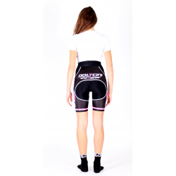 Cycling pant Bib Black-Pink