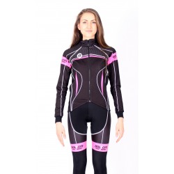 Jacket Wintex black - pink