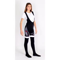 Cycling BibTight winter ROAD WHITE