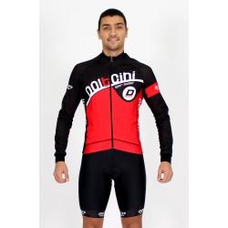 Cycling Jersey Long Sleeves red - CORDOBA