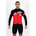 Cycling Jersey Long Sleeves red - CORDOBA