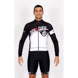 Cycling Jersey Long Sleeves black - CORDOBA