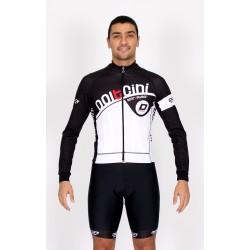 Cyclisme à Maillot manches longues black - CORDOBA