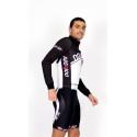 Cycling Jersey Long Sleeves black - CORDOBA