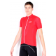 Cycling Jersey Short Sleeves Uni Red
