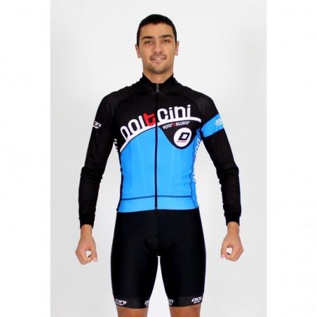 Cycling Jersey Long Sleeves blue - CORDOBA