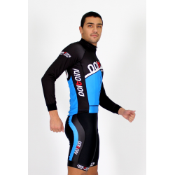 Cycling Jersey Long Sleeves blue - CORDOBA