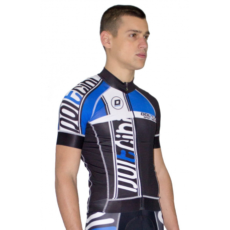 Cycling Jersey Short Sleeves blue - MADRID