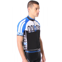 Cycling Jersey Short Sleeves blue - TOKIO