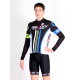 Cycling Jersey Long Sleeves classic black - ATHENS