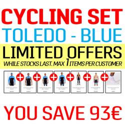 Cycling SET - Toledo Blue