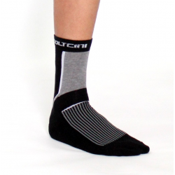 Чорапи високи зимни black-grey (2 чифта)