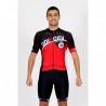 Cycling Jersey Short Sleeves red - CORDOBA