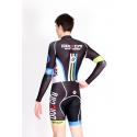Cycling Aerosuit Long Sleeves PRO black - ATHENS