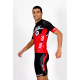 Cycling Jersey Short Sleeves red - CORDOBA