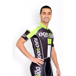 Cyclisme à manches courtes jersey PRO green - NAPOLI