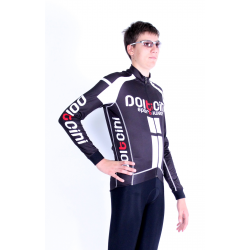 Cycling Jersey Long Sleeves PRO white - NAPOLI