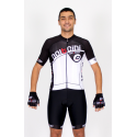 Cycling Jersey Short Sleeves black - CORDOBA