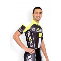 Cyclisme à manches courtes jersey PRO fluo - NAPOLI