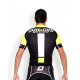Cycling jersey short sleeves PRO fluo - NAPOLI
