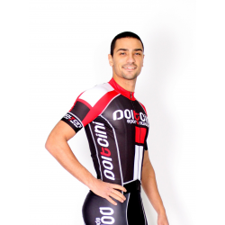 Cyclisme à manches courtes jersey PRO red - NAPOLI