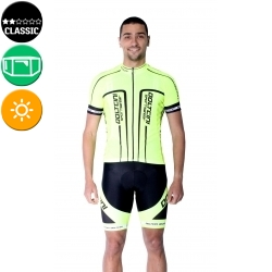 Cycling Jersey Short Sleeves classic - LONDON FLUO