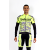 Cycling Jersey Long Sleeves PRO fluo - NAVAS