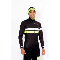 Cyclisme à Veste Winter pro fluo yellow - ZAMORA