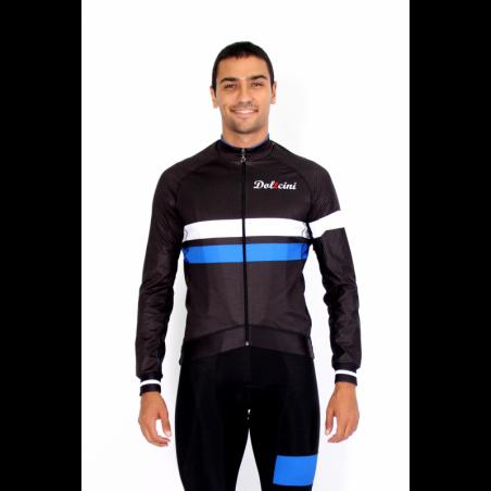 Cycling Midseason Jacket PRO blue - ZAMORA