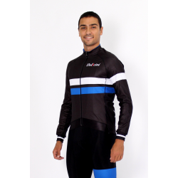 Cycling Midseason Jacket PRO blue - ZAMORA