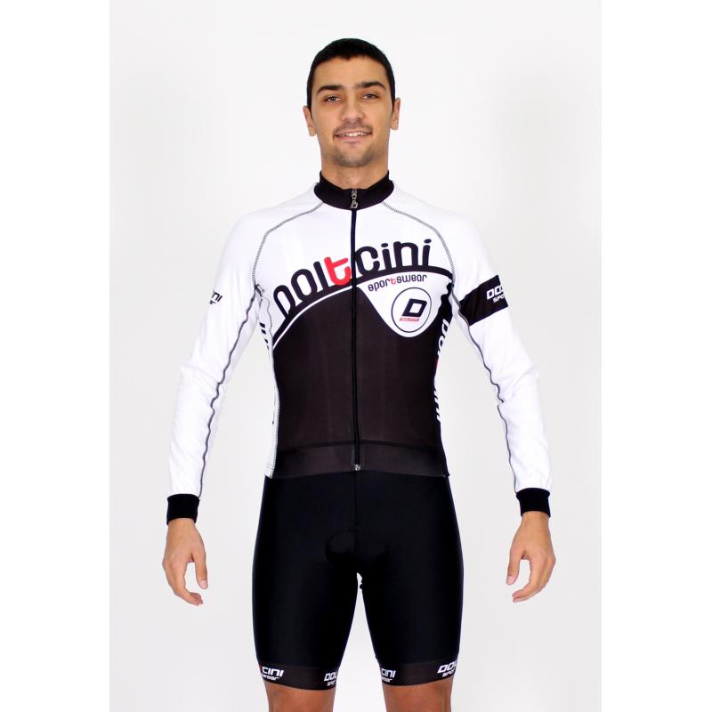 Cycling Jersey Long Sleeves white - CORDOBA