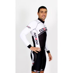 Cycling Jersey Long Sleeves white - CORDOBA