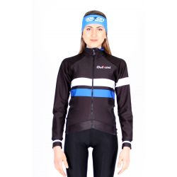 Cycling Jacket Winter Pro Blue - ZAMORA