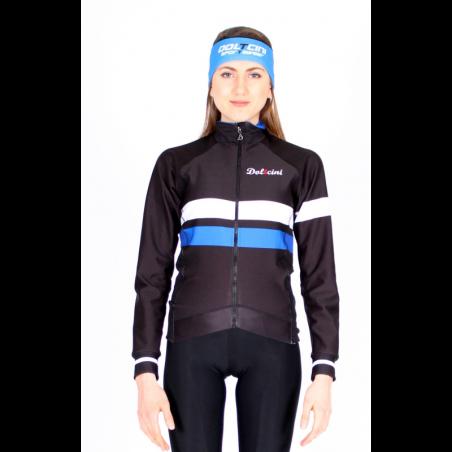 Cyclisme à Veste Winter Pro Blue - ZAMORA