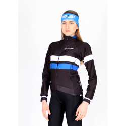 Cyclisme à Veste Winter Pro Blue - ZAMORA