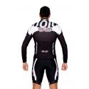 Cycling Jersey Long Sleeves black - MALAGA