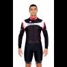 Cycling Jersey Long Sleeves red - MALAGA