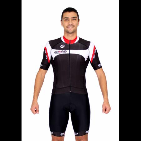 Cycling Jersey Short Sleeves red - MALAGA
