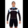 Cycling Jersey Long Sleeves blue - MALAGA