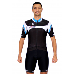 Cycling Jersey Short Sleeves blue - MALAGA
