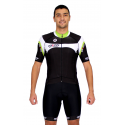 Cycling Jersey Short Sleeves green - MALAGA