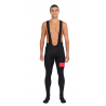 Cycling bibtight winter PRO red - ZAMORA