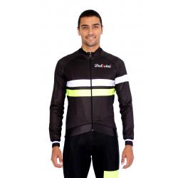 Cycling Jacket midseason pro fluo yellow - ZAMORA