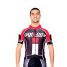 Cycling Jersey Short Sleeves PRO red - NAPOLI
