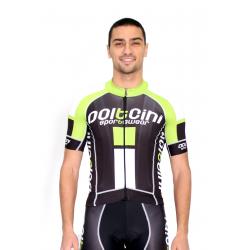 Cycling Jersey Short Sleeves PRO green - NAPOLI