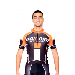 Cyclisme à manches courtes jersey PRO orange - NAPOLI